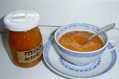 Meruňková přesnídávka recept Preserves, Fondue, Pickles, Jelly, Cheese, Canning, Ethnic Recipes, Preserve, Preserving Food