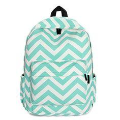 Canvas Backpack Wavy Strip Printing Backpacks For Teenage Girls Bags Travel Ripple Ruscksack Schoolbag Mochila Escolar Shoulder Bags For School, School Bags For Girls, Girls Bags, Sac College, Look Fashion, Fashion Bags, Woman Fashion, Fashion Backpack, Bags Travel