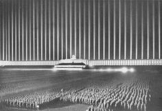 Cathedral of Light - Nuremberg, Nazi Germany