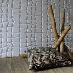 100% Recycled and Biodegradable 3D Wall Panels
