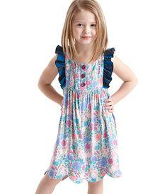 Matilda Jane It's a Wonderful Parade Gloria Bubblegum Dress Retail: $48