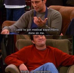 Joey and Chandler Friends tv show Quotes