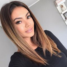 40 top balayage for dark hair black and dark brown hair balayage color 2019 guid. - 40 top balayage for dark hair black and dark brown hair balayage color 2019 guide 031 - Brown Hair Cuts, Golden Brown Hair, Brown Ombre Hair, Brown Hair Balayage, Balayage Color, Brown Blonde Hair, Brown Hair With Highlights, Light Brown Hair, Brunette Hair