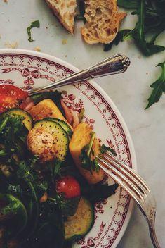 Salade de gnocchis maisons