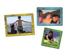 """""""The Best Magnetic Photo Frames Anywhere!"""" Looking for a unique gift?  Want to display your own photos on your fridge, at the office, in your locker?  Check out fridgepicframes.com for the latest in Magnetic Photo Frames."""