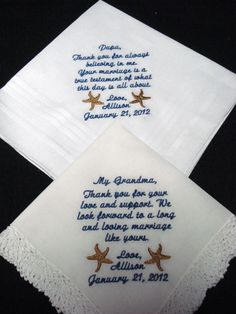 2 custom save the date machine embroidered by designsbyGloria, $27.00