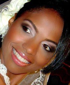Sissa Noivas e Festas: Maquiagem para noivas negras
