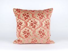 Luxury Pink Velvet Pillow Cover - Shabby Chic - Designer Pillow - Cushion Cover - Decorative Pillow Handmade by EllaOsix by EllaOsix on Etsy