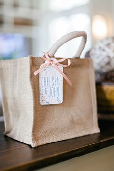 welcome bags | Brooke Images #wedding