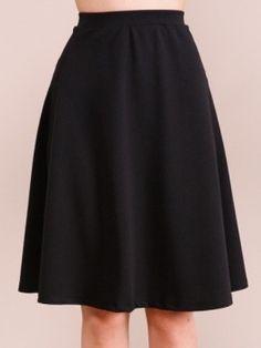 Not So Basic Black Skirt | Midi Skirt | sassy shortcake