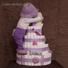 diaper cake girl unique - Αναζήτηση Google