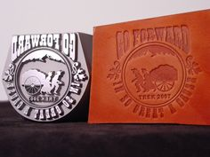 Infinity Stamps, Inc. - Custom Leather Hand Stamp...highest quality....and price.