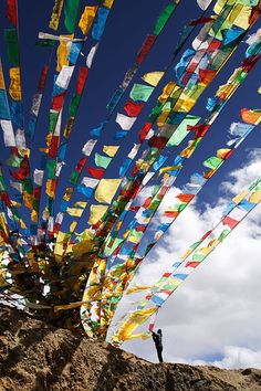 Tibet :: My Wish @ 5500m by Ya Ya, via Flickr