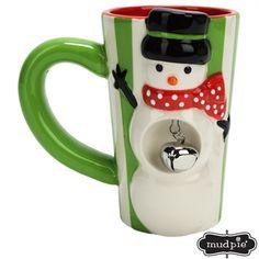 Mud Pie® Snowman Jingle Latte Mug #VonMaur   Mud Pie at In Fashion Kids
