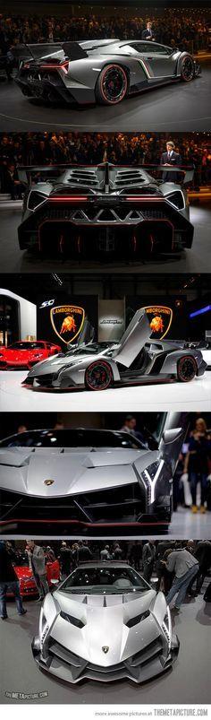 Lamborghini Veneno, only 3 were made in the world…
