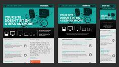 Responsive Design. 50 examples