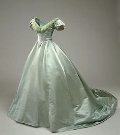 Ball Gown, ca. 1860 via National Museum of Denmark