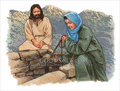Religious Stock Image well samaria woman