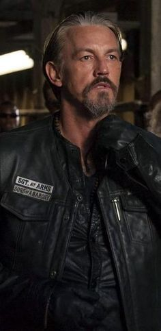 I love CHIBS! i also love that he is a man focus on this season of sons of anarchy!