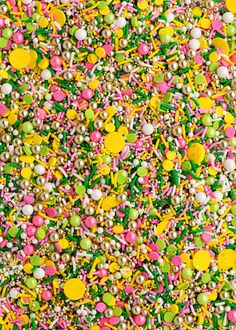 GILTY PARTY Twinkle Sprinkle Medley is a one of a kind mix of some of the most golden and pineapple-y sprinkles in the universe, including gold