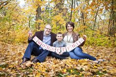 """Super cute """"It's a wonderful life"""" banner in family portrait - Cranbrook - Kate Saler Photography"""