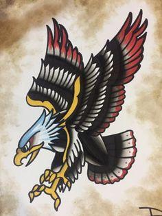Traditioneller Adler tattoo for men tattoos tattoo tattoo japones tattoo tattoo traditional Traditional Tattoo Black And Grey, Traditional Eagle Tattoo, Traditional Tattoo Old School, Traditional Tattoo Design, Traditional Tattoo Filler Flash, American Traditional Tattoos, Traditional Styles, Skull Tattoo Design, Dragon Tattoo Designs