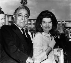 Today is Jacqueline Kennedy Onassis and Aristotle Onassis's wedding anniversary.
