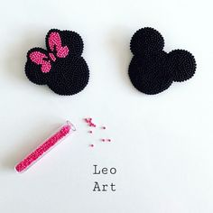 208 отметок «Нравится», 5 комментариев — Leo_Art (@l.e.o_art) в Instagram: «Милые броши Микки и Мини »
