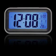Digital LED Display Alarm Clock