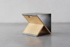 Steel stool limited Edition | Noon Studio