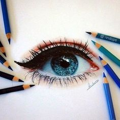shares Facebook Twitter Pinterest StumbleUpon TumblrAn artist knows that when it comes to emulating an object, there is nothing more difficult than trying to draw an eye. This is because the eyes are not just a means to view something but they are the conduit to which the heart of your emotions are connected. Having pretty eyes makes the plainest face glow with beauty and the eye can be very difficult to define. Then is there a doubt that to draw an eye or a pair of eyes in such a way that it...