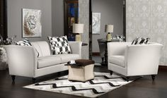 Living Room Furniture-The Swan Collection-Swan Sofa
