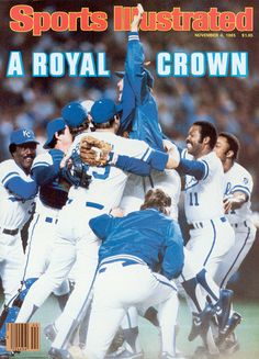 The Kansas City Royals celebrate after winning Game 7 of the 1985 World Series against the St. Louis Cardinals. 29 years later, the Royals have made it back to the World Series. (Rich Pilling/SI)
