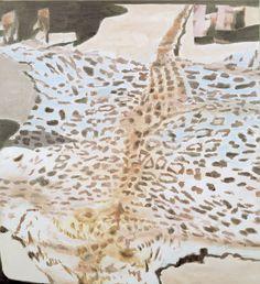 LUC TUYMANS  Leopard  2000  142 x 129cm  oil on canvas