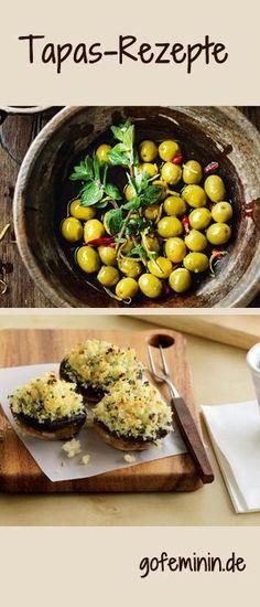 Lust auf Tapas? Hier gibt's die passenden Rezepte: http://www.gofeminin.de/kochen-backen/tapas-rezepte-d59870.html #tapas