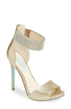 Blue by Betsey Johnson 'Unite' Satin Sandal available at #Nordstrom