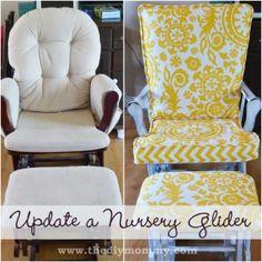 Nursery Glider Rocking Chair