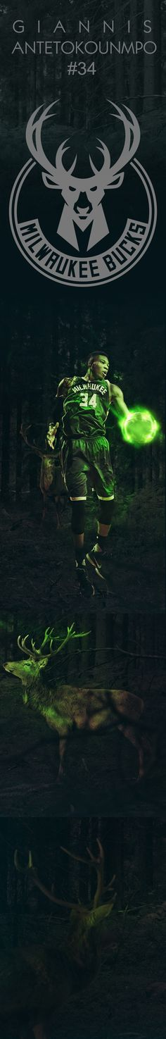 Giannis Antetokounmpo on Behance
