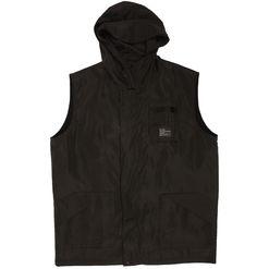 B-side hooded nylon gilet black £120