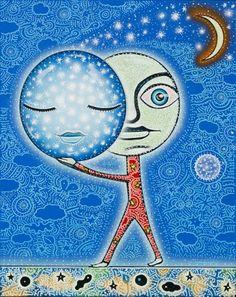 """""""Inzombia"""" from Joel Nakamura's latest show """"Dream Catchers"""" Pop Gallery —Santa Fe, New Mexico"""
