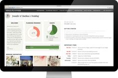 THE perfect way to plan your wedding, organize it, budget it, pin your ideas, share them ALL in one!!