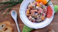 Apéro time : Rillettes de thon à l\'orange et au pamplemousse rose !