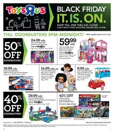 ToysRUs 2017 Black Friday Ad