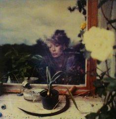 Sibelle Bergemann Polaroid.  (Looks like a self portrait?)