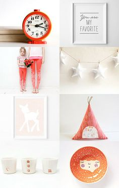 Gifts For Kids by Vasiliki on Etsy--Pinned with TreasuryPin.com   featuring my star garland for baby and kids room