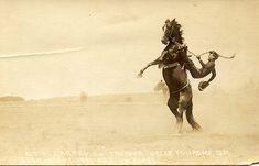 Vintage Cowboy Photo