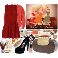 Bar Maid (Beauty & the Beast), created by irishfleur06 on Polyvore