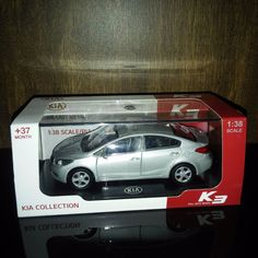 Kia Collection K3 Cerato 2015 Scale, Toys, Vehicles, Collection, Branding, Weighing Scale, Gaming, Balance Sheet