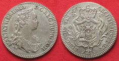 1744 Haus Habsburg RDR - HALL 1/4 Taler 1744 MARIA THERESIA Silber PRACHTSTÜCK!!! # 93932 unz