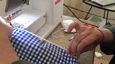 Froncer un tissu avec un élastique